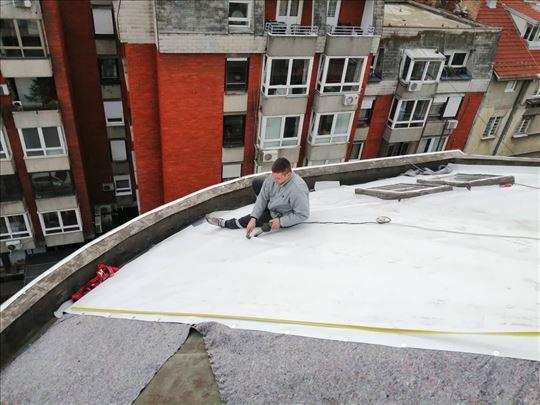 Hidroizolacije i sanacije krovova