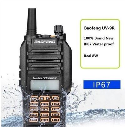 Radio stanica Baofeng UV 9R plus 14W waterproof