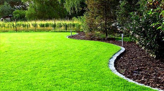 Košenje trave trimerom i kosačicom