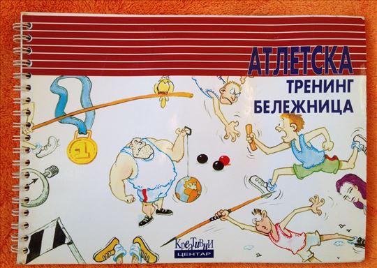 Atletska trening beleznica