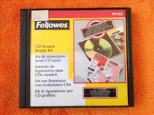 Fellowes - Set za popravku CD/DVD-a od ogrebotina