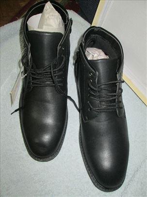 Crne, polu-čizme Diferente, br.44 NOVE