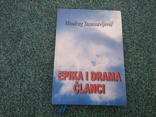 Epika i drama; Članci - Miodrag Stanisavljević