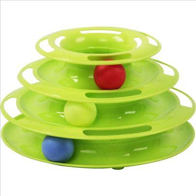 Interaktivna igračka za mačke Track Tower