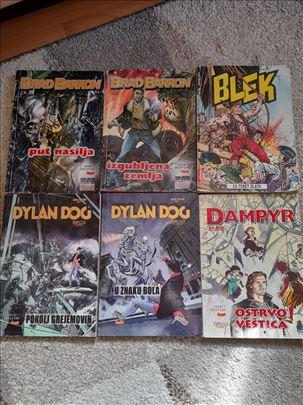 DYLAN DOG,BRAD BARRON,BLEK,DAMPYR