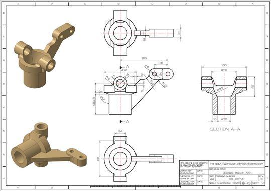 Izrada 3D modela i dokumentacije za izradu