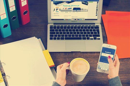 Održavanje poslovnih profila na društvenim mrežama