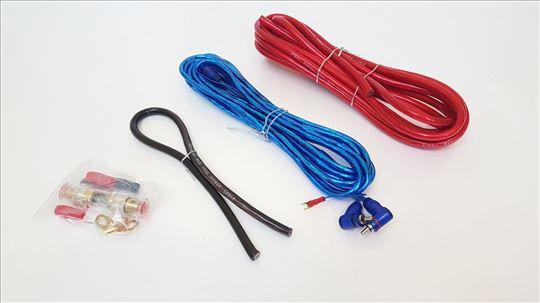 Sinus tec RCA i kablovi napajanja za pojačalo 16mm