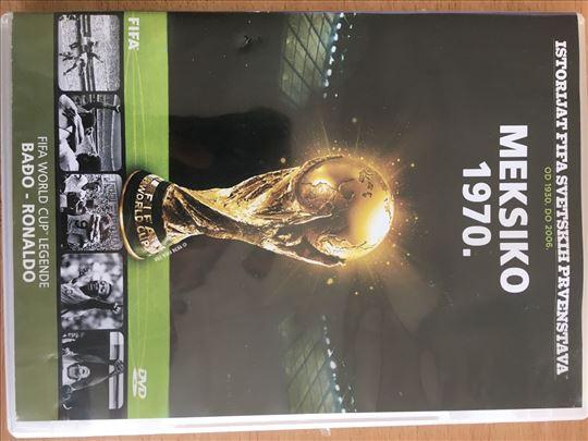 DVD FIFA svetsko prvenstvo Meksiko 1970