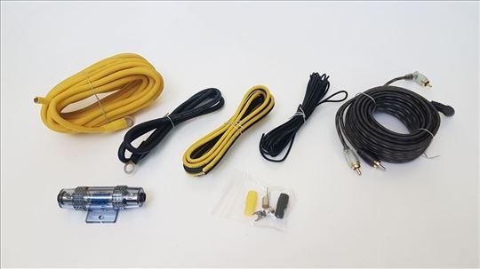 GROUND ZERO RCA i kablovi napajanja za pojačalo 10