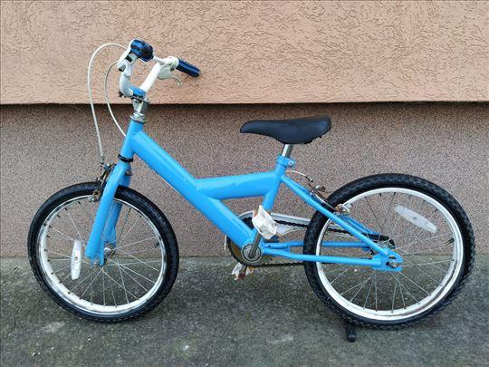 """Deciji Plavi bicikl 16"""""""
