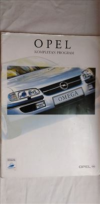 Prospekti Opel: Kompletan program 1998., 36 str. s