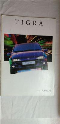 Prospekti Opel:Tigra 2 kom. izdanje 7/80 i 7/95,36