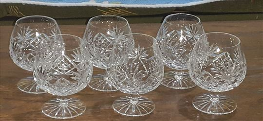 Kristalne čaše za konjak