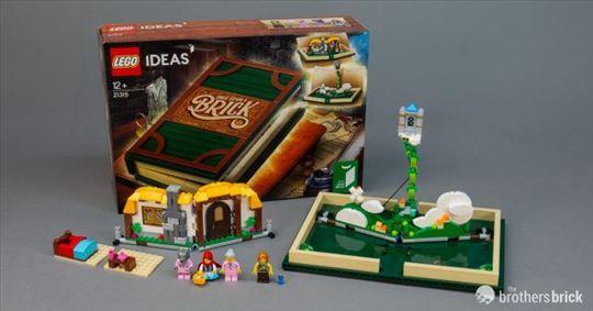 Neotpakovan Lego set 21315 cudesna knjiga bajki
