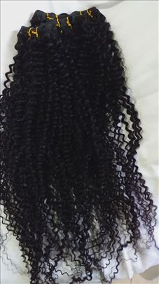 Prirodna Brazilska kosa Vrhunski kvalitet AAA KLAS