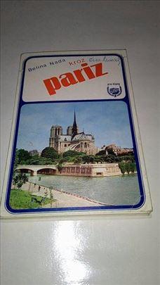 Belina Nada kroz Pariz vodic na srpskom iz 1979.