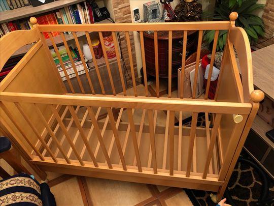 Drveni krevetac za bebe, Bambino