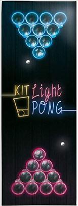 Svetleće čaše u mraku za beer pong