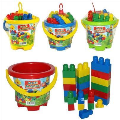 Kocke Maxi blocks, 24 kom 70-615000