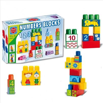 Kocke Maxi blocks za učenje 70-618000