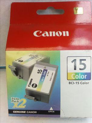 Canon original inks. BCI 15 color CENA 199 dinara.
