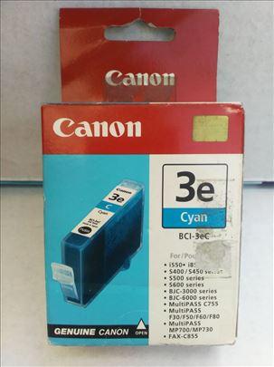Canon original inks. BCI 3e cyan CENA 199 dinara.