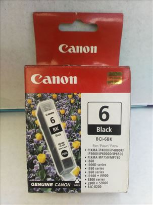 Canon original inks. BCI 6e black CENA 199 dinara.