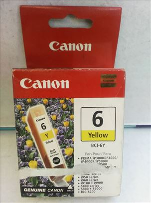 Canon original inks. BCI 6e yellow CENA 199 dinara