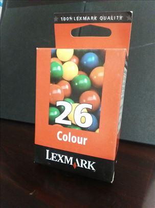 Lexmark original inks. 26 tri-colour.  CENA 499 di