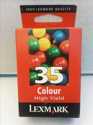Lexmark original inks. 35 tri-colour.  CENA 499 di