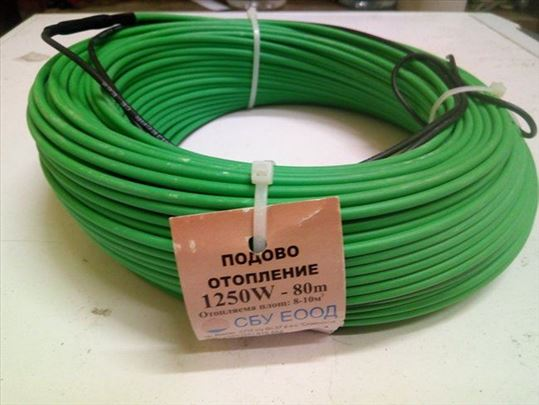 Grejaci / kablovi za podno grejanje i rasad 80m