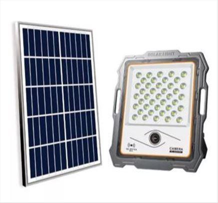 Led solarni reflektor 200w + ip kamera 1080P-novo