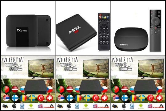 Online IPTV lista + Android smart tv box (opciono)