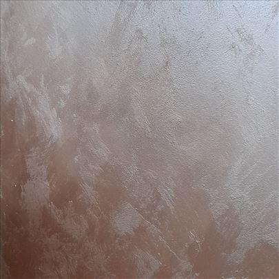 Krečenje Sahara klasiko gletovanje farbanje