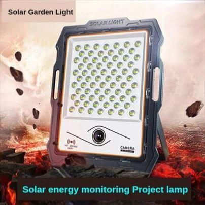Led solarni reflektor 100w + ip kamera 1080P-Novo