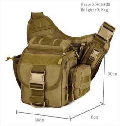 Takticka torba za pistolj molle sistem na rame