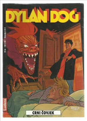 Dylan Dog LU 102 Crni čovjek (celofan)