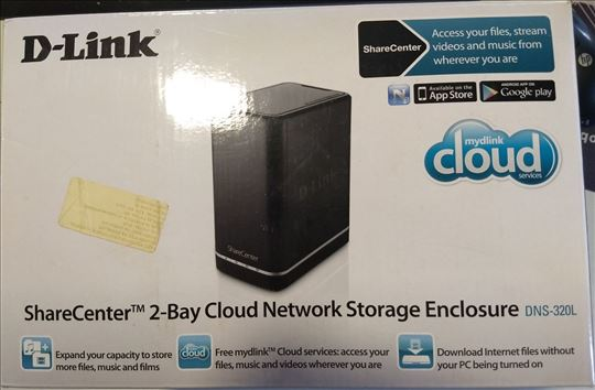 Network Storage D-Link DNS-320L- 2-Bay Cloud Netwo