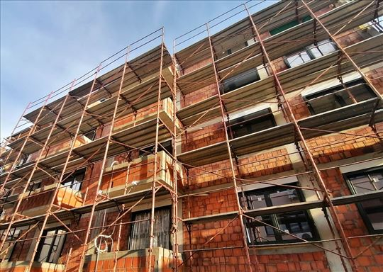 Skela, brzomontažna, građevinsko-fasadna