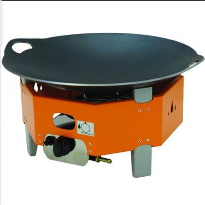 MINI plinski roštilj - VOK ploča fi 45 cm