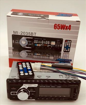 Auto radio model MI-2035BT