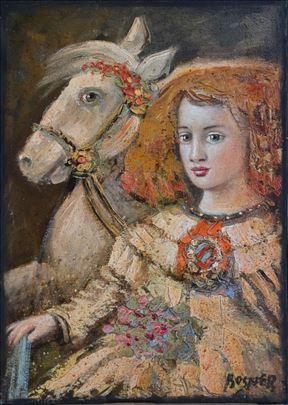 "Mithat Jelkić Bosner ""Devojka i konj"""
