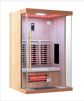 Sauna Infracrvena kabina za 1 i 2 osobe