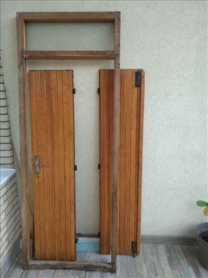 Dvokrilna vrata sa štokom, odlična