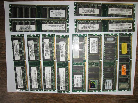 12 komada DDR od 256 MB