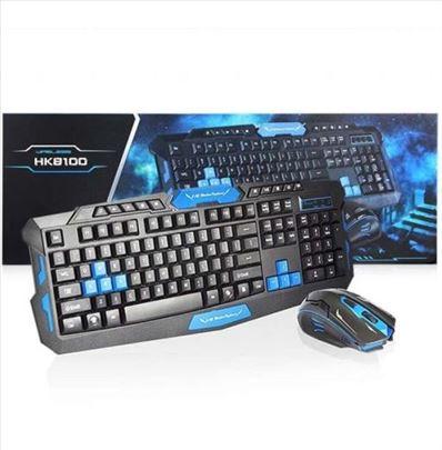 Gejmerska tastatura+miš (odličan set)