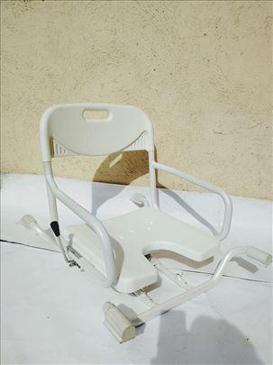 Stolica za kadu, rotirajuća, sa naslonom