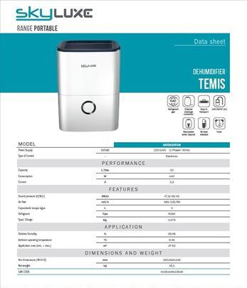 Odvlaživač  SKYDH20TEM (20 litara)