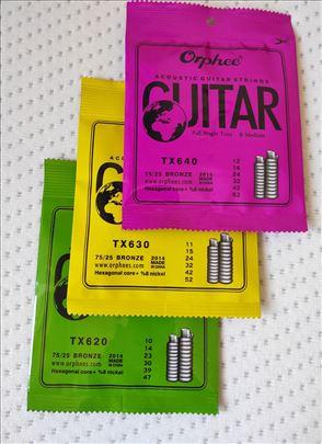 Žice za akustičnu gitaru